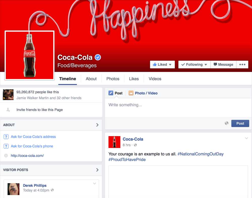 Coke FB Home